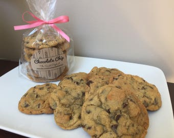 Chocolate Chip Cookies - Chocolate Chip - Chocolate Cookies - Cookies - One dozen
