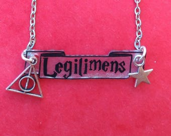 Necklace harry potter legilimens out Wizard Magic
