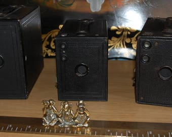 1910 No 2 Model D,1920 Brownie No 2 , and Brownie 1926 No 2A Model C Camera Collection