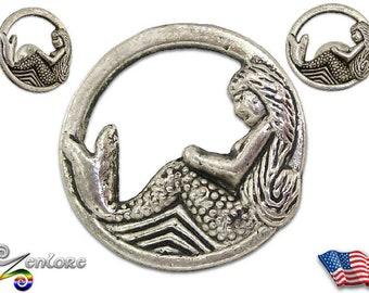 Mermaid Nymph Siren Sea Myth Lapel Pin