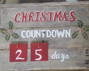 Christmas Countdown 25 days