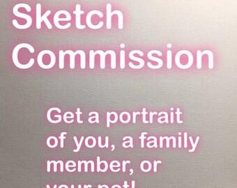 PORTRAIT SKETCH COMMISSION
