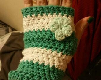Adorable fingerless gloves made to order