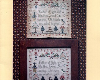 Heartstring Samplery: Oh Teach Me What Is Good - Cross Stitch Pattern