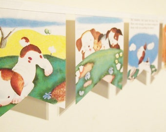 Little Golden Book Bunting - The poky little puppy