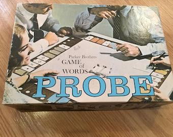 Vintage PROBE Board Game Parker Brothers 1977 100% Complete