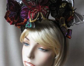 Multi Butterfly Headpiece