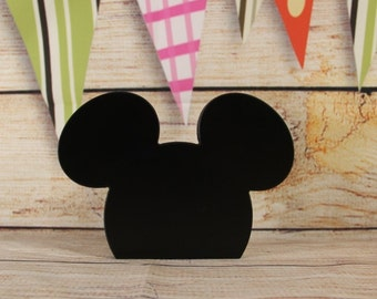 Mickey Wood Silhouette.
