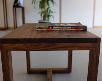 Handmade American Walnut Side Table