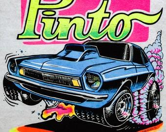 Pinto Vintage 1973 Holoubek Studios Iron On Heat Transfer