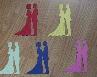 "5 cuts for your scrapbooking creations, lot number 25 and ""groom""."