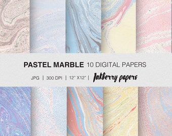 Marble wrapping paper/ instant download/  digital marble paper/ craft paper/ digital paper pack/ digital marble download/ Marble download