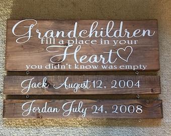 Grandparents sign
