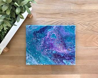 Purple and Blue Turtle
