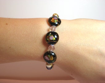 Ancient Rose - Interchangeable Beaded Watch Band