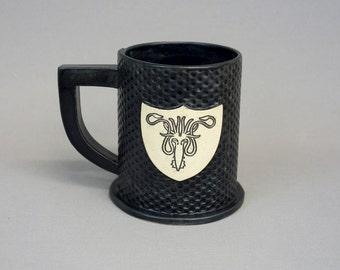 House Greyjoy Ceramic Mug in Matte Black