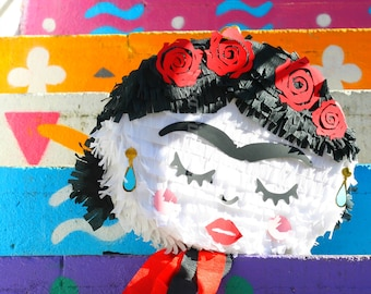 Frida Kahlo Piñata| Mexican Piñata| Party supplies| Adult Pinata| Pinata| Mexican style| Mexican Party| Frida Kahlo Birthday| Frida  Pinhata