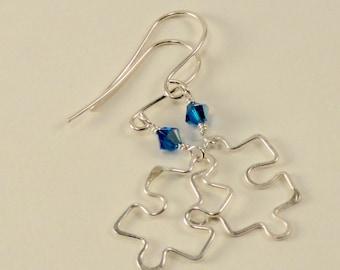 Autism Awareness Earrings