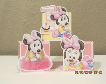 Baby Minnie Favor Boxes (set of 12)