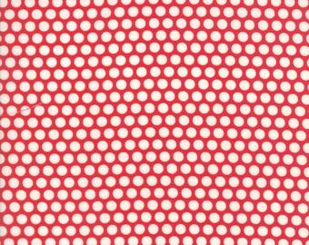 Bonnie and Camille, Basics, Red Bliss Dot, Moda Fabrics, #55023-31