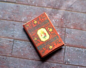 Miniature Book --- The Language and Poetry of Flowers