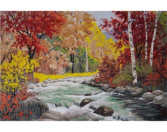 Trees Parade - Landscape Mosaic Designs