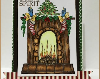 SOFORT-DOWNLOAD digitale Digi Stamps großes Auge großer Kopf Puppen Digi Img859 Christmas von Sherri Baldy