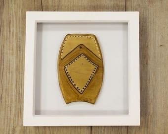 Framed Hand made Bodyboard