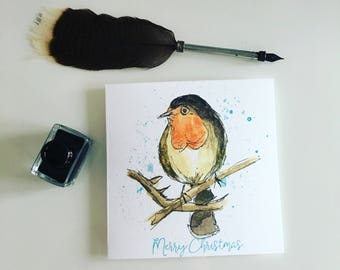 Robin Christmas cards Pack of 10