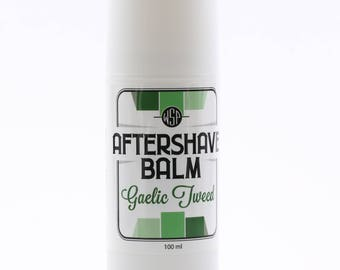Cooling Aftershave Balm 3.4oz 100ml (Gaelic Tweed) FREE SHIPPING