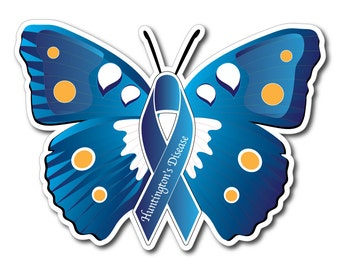 Huntington Disease Awareness Sticker/Decal