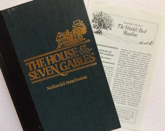 The House of the Seven Gables by Nathaniel Hawthorne, Reader's Digest Collector's Edition, 1985