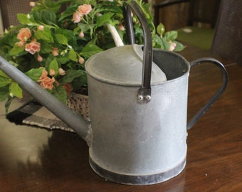 Vintage Galvanized Watering Can