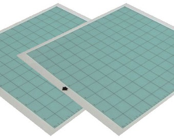 """Silhouette Cameo 12"""" Cutting  Mat - 2 pieces - A 29.98 Value"""
