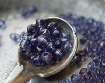 Amethyst Seeds, Seed Beads, Toho Beads, N6