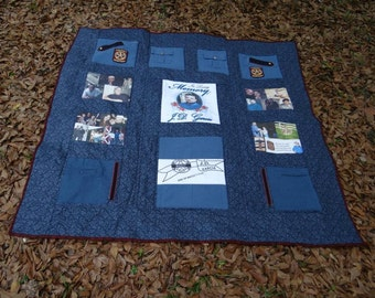 Memorial Quilt for Fallen Hero, Officer, Loved One