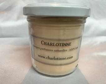 Bougie parfumée naturelle