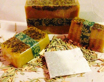 Citrus Tea Goats Milk Soap, available in 3 sizes