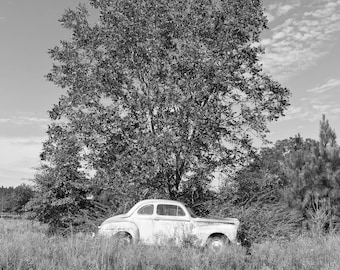 """1948 Ford -PRINT - 11"""" x 14"""" - Black and White - FREE SHIPPING!"""