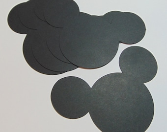 Mickey Ears Die Cuts Set of 40