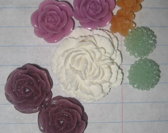 Garden Party CABOCHON COMBO PACK - Set of 9 Pieces