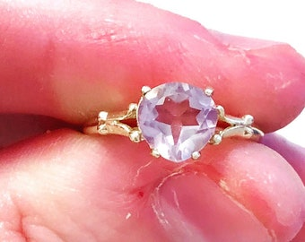 Tangled Pink Sapphire 10K Ring