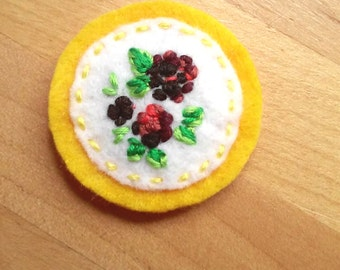 Colorful Blackberries (Patch, Pin, Brooch, or Magnet)