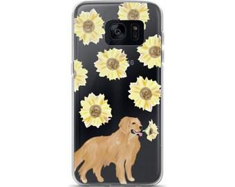 Golden Sunflower Samsung Case