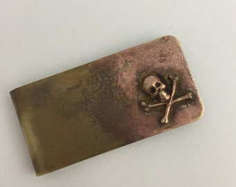 Skull and Bones Money Clip