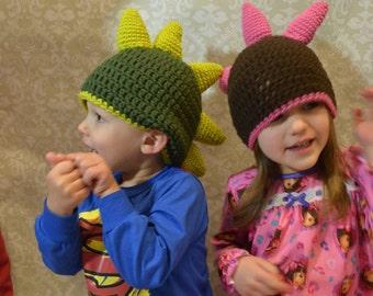 Crochet Dino Beanies