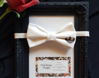 Star Wars Wedding Bow Tie / Custom Geeky Tie / Adjustable Cotton Bow Tie / Gifts for him /Nerdy Toddler Kids Teen Bow Tie