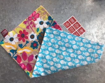 Buddiebag DIY Kit [Flowers & Fish]