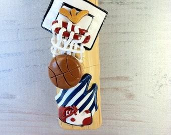 Basketball Mezuzah Cover
