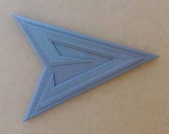 Green Arrow Belt Emblem